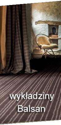 Wykładziny dywanowe do biur - typ balsan