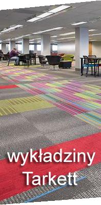 Tarkett to wykładzina dywanowa do biur oraz do zastosowania jako dywanowe wykładziny do firm