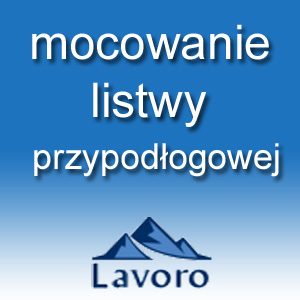 mocowanie listwy przypodłogowej po założeniu wykładziny dywanowej prezentuje Roman Szubarga właściciel firmy LAVORO dystrybutora wysokiej jakości wykładzin flotex